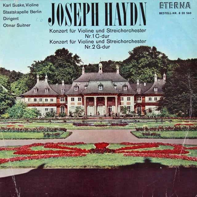ズスケ&スウィトナーのハイドン/ヴァイオリン協奏曲第1&2番 独ETERNA 3048 LP レコード