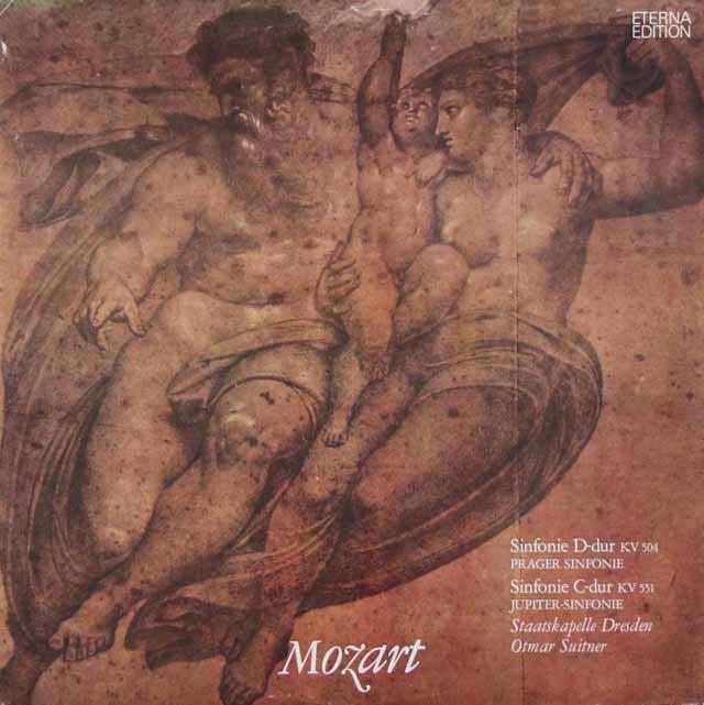 スウィトナーのモーツァルト/交響曲「プラハ」&「ジュピター」 独ETERNA 3048 LP レコード