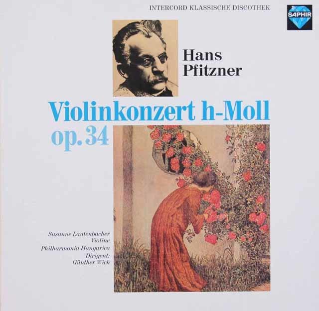 ラウテンバッハーのプフィッツナー/ヴァイオリン協奏曲  独SAPHIR 3048 LP レコード