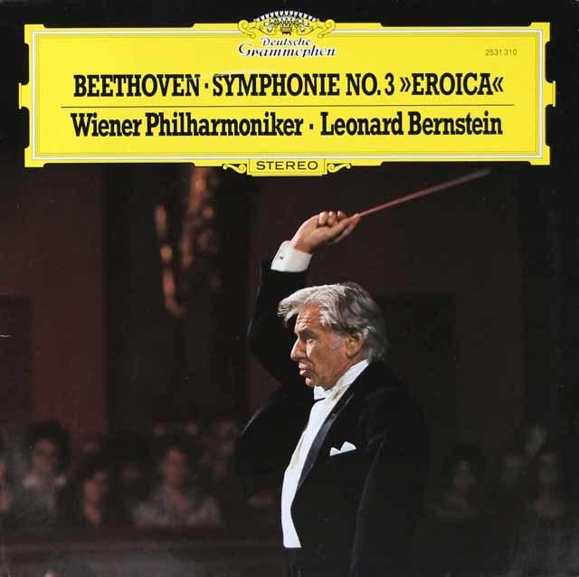バーンスタインのベートーヴェン/交響曲第3番「英雄」   独DGG 3048 LP レコード