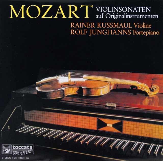 クスマウル&ユングハンスのモーツァルト/ヴァイオリンソナタ第40&42番 独toccata 3101 LP レコード