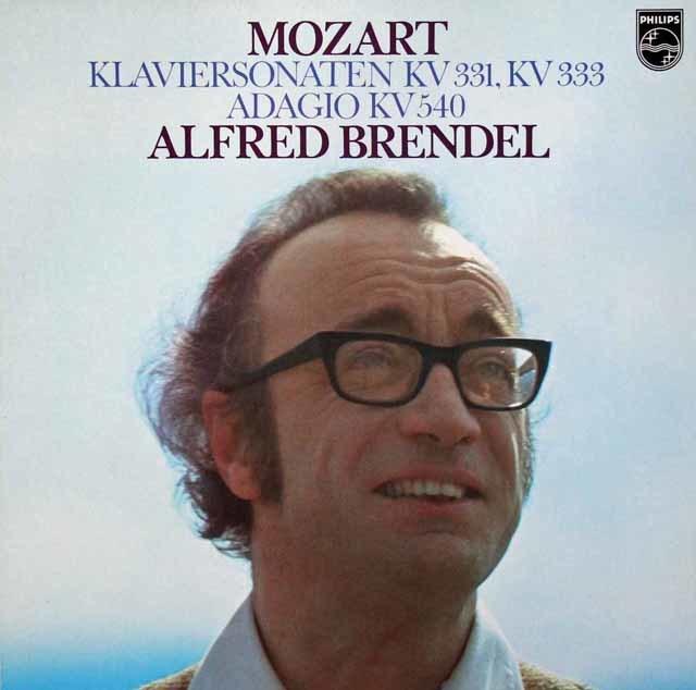 ブレンデルのモーツァルト/ピアノソナタ「トルコ行進曲つき」ほか 蘭PHILIPS 3101 LP レコード