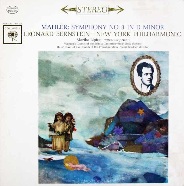 【オリジナル盤】バーンスタインのマーラー/交響曲第3番 米CBS 3101 LP レコード