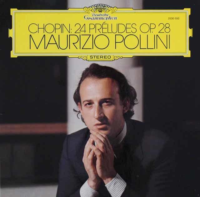 ポリーニのショパン/前奏曲集 独DGG 3101 LP レコード