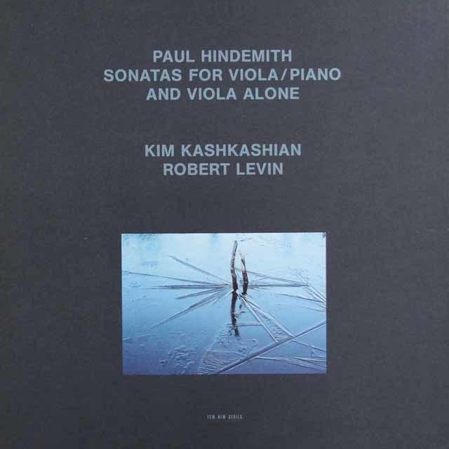 カシュカシアン&レヴィンのヒンデミット/ヴィオラソナタ全集(ピアノ伴奏版、無伴奏版) 独ECM 3101 LP レコード