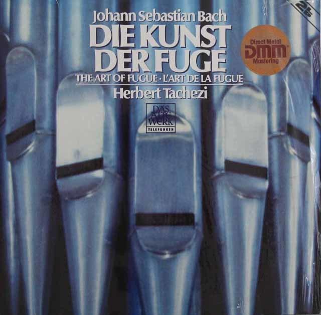 【未開封】 タヘツィのバッハ/「フーガの技法」  独TELDEC 3102 LP レコード