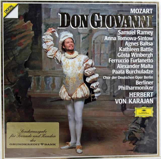 【未開封】 カラヤンのモーツァルト/「ドン・ジョヴァンニ」全曲 独DGG 3102 LP レコード