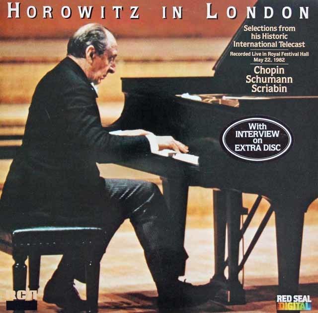 【特典盤付き】ホロヴィッツ・イン・ロンドン 独RCA 3103 LP レコード
