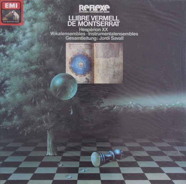 【未開封】 ジョルディ・サヴァール&エスペリオンXXの「モンセラートの朱い写本」 独EMI 3103 LP レコード