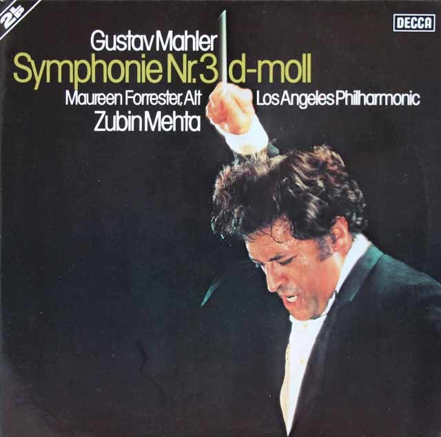 メータのマーラー/交響曲第3番 独DECCA 3103 LP レコード