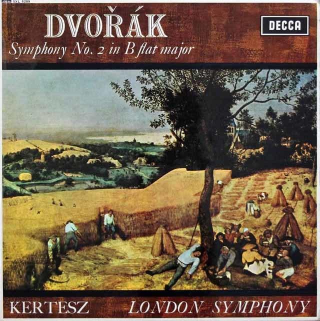 ケルテスのドヴォルザーク/交響曲第2番 英DECCA 3103 LP レコード