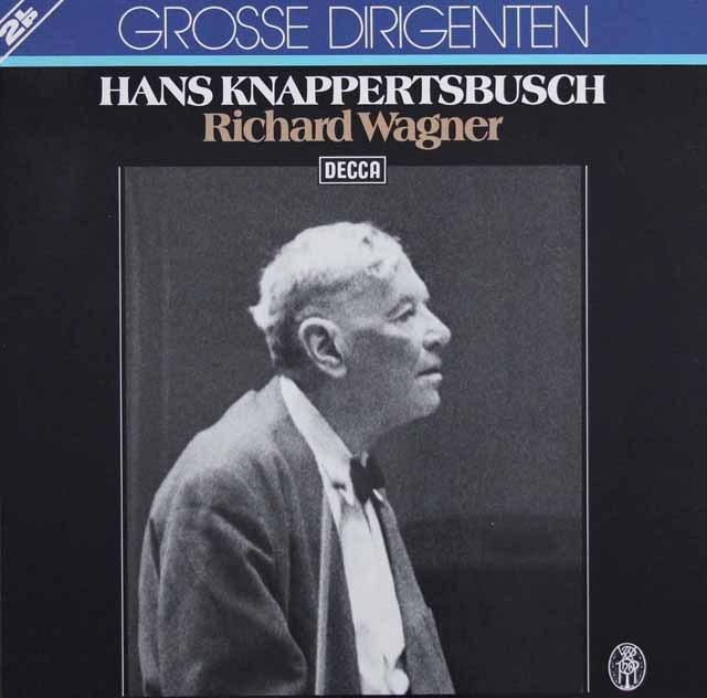 クナッパーツブッシュのワーグナー/オペラ名曲集 独DECCA 3103 LP レコード
