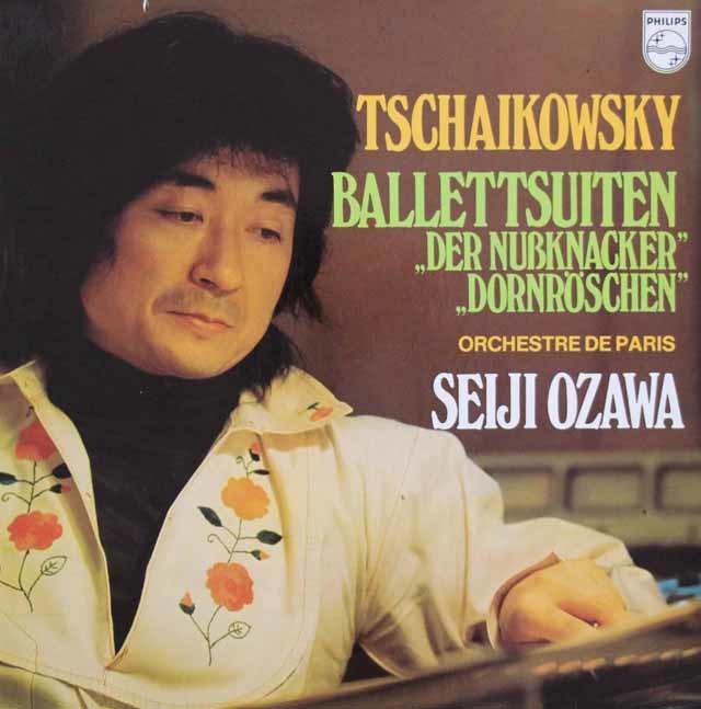 小澤のチャイコフスキー/「くるみ割り人形」&「眠れる森の美女」組曲 蘭PHILIPS 3103 LP レコード
