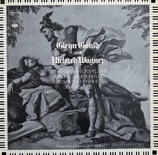 グールドのワーグナー/ピアノ・トランスクリプション集 独CBS 3103 LP レコード