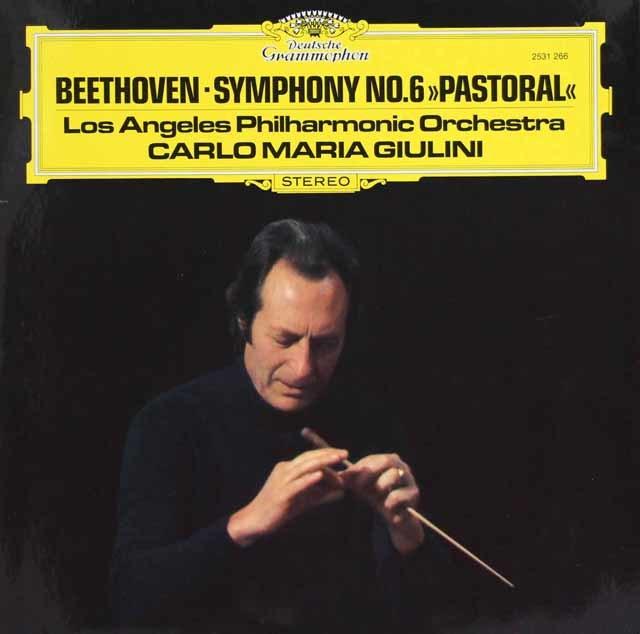 ジュリーニのベートーヴェン/交響曲第6番「田園」 独DGG 3103 LP レコード