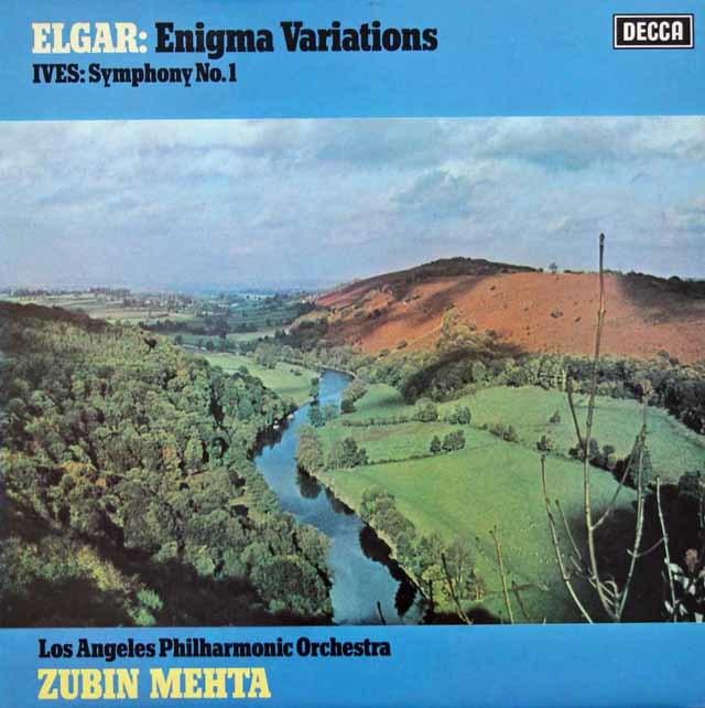 【オリジナル盤】メータのエルガー/エニグマ変奏曲ほか 英DECCA 3104 LP レコード