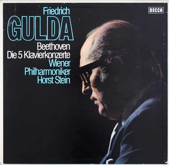 グルダのベートーヴェン/ピアノ協奏曲全集  独DECCA 3104 LP レコード
