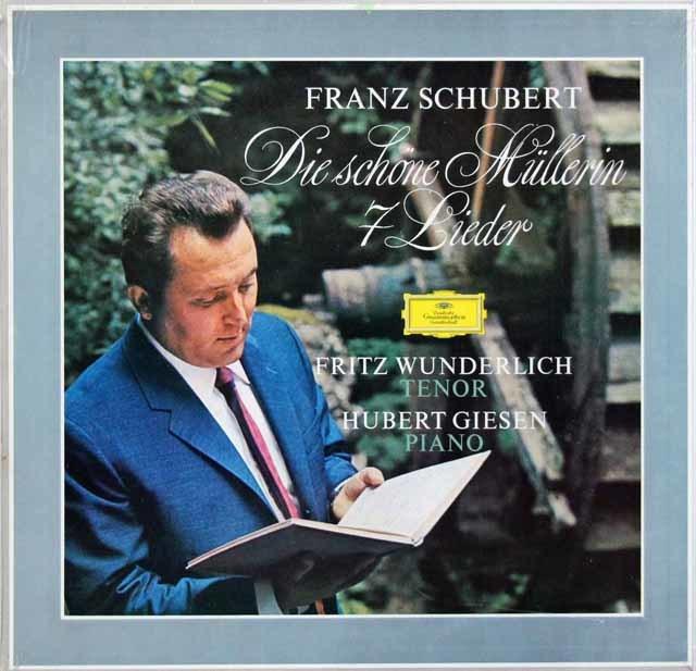 【未開封】 ヴンダーリヒのシューベルト/「水車小屋の娘」ほか  独DGG 3104 LP レコード
