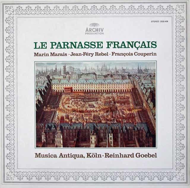 ムジカ・アンティクヮ・ケルンのフランス詩人たち 独ARCHIV 3107 LP レコード