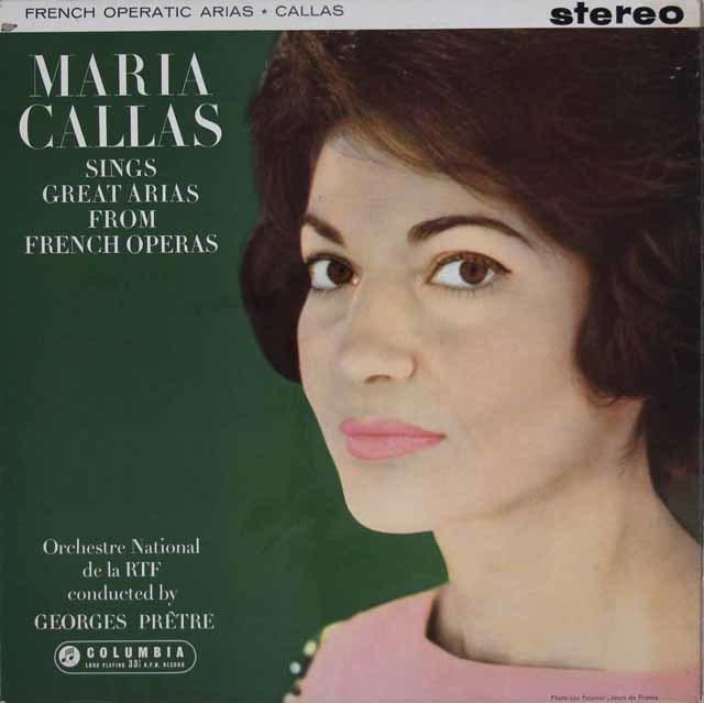 【オリジナル盤】「パリのカラス」 フランスオペラのアリア集 英EMI 3107 LP レコード