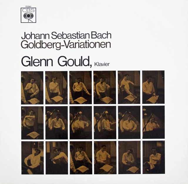 グールドのバッハ/ゴルトベルク変奏曲 独CBS 3107 LP レコード
