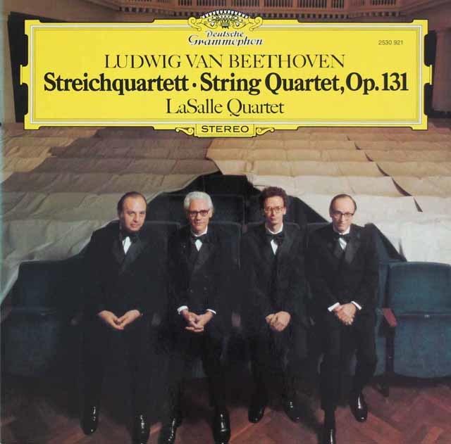 ラサール四重奏団のベートーヴェン/弦楽四重奏曲第14番 独DGG 3108 LP レコード