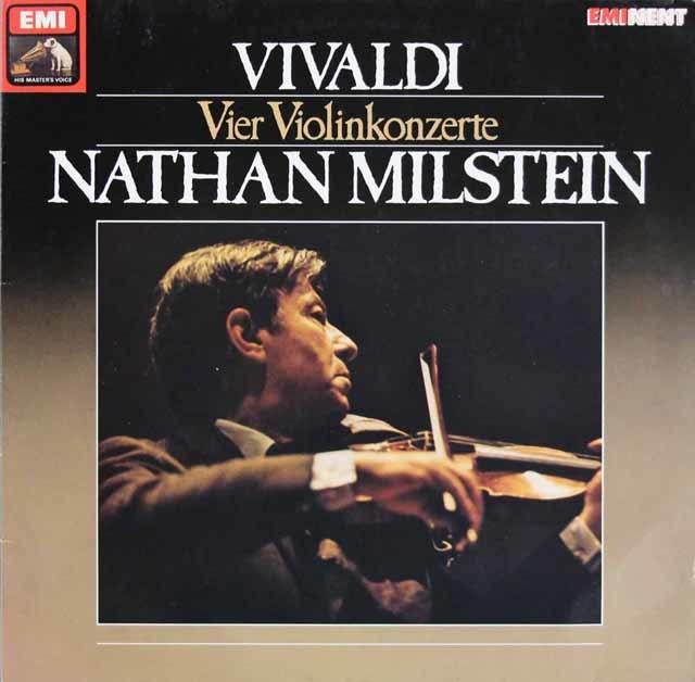 ミルシュタインのヴィヴァルディ/4つのヴァイオリン協奏曲集 独EMI 3109 LP レコード