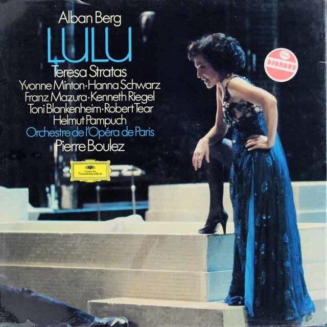 【未開封】ブーレーズのベルク/「ルル」 独DGG 3109 LP レコード