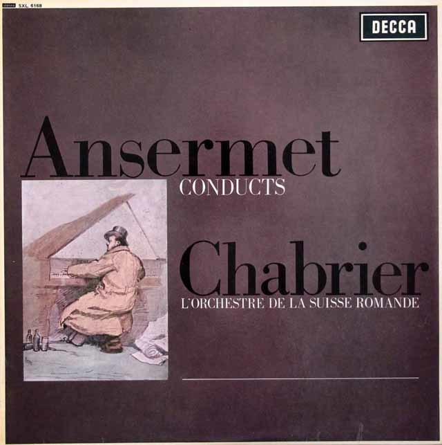 【オリジナル盤】 アンセルメのシャブリエ/管弦楽名曲集 英DECCA 3110 LP レコード
