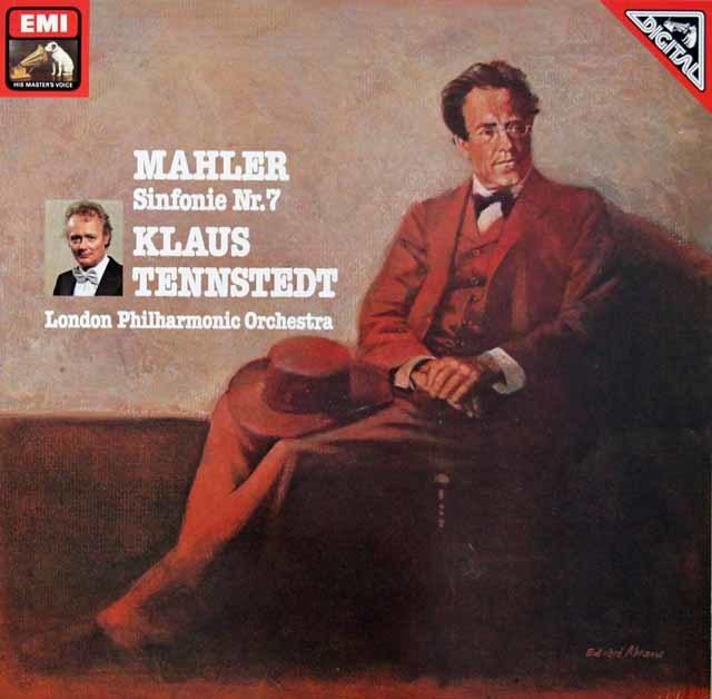 テンシュテットのマーラー/交響曲第7番「夜の歌」 独EMI 3110 LP レコード