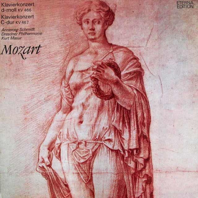 マズア&シュミットのモーツァルト/ピアノ協奏曲第20&21番 独ETERNA 3110 LP レコード