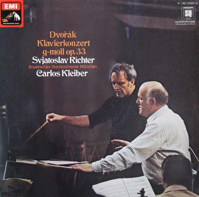 リヒテル&クライバーのドヴォルザーク/ピアノ協奏曲 独EMI 3111 LP レコード