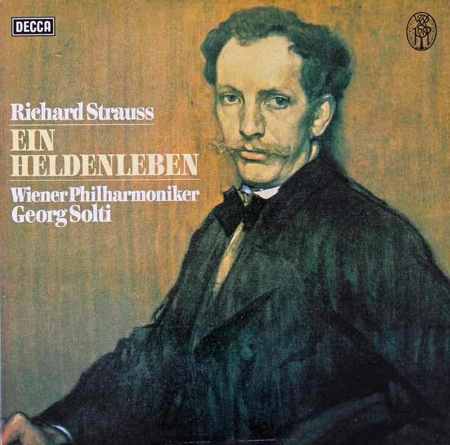 ショルティのR.シュトラウス/「英雄の生涯」 独DECCA 3112 LP レコード