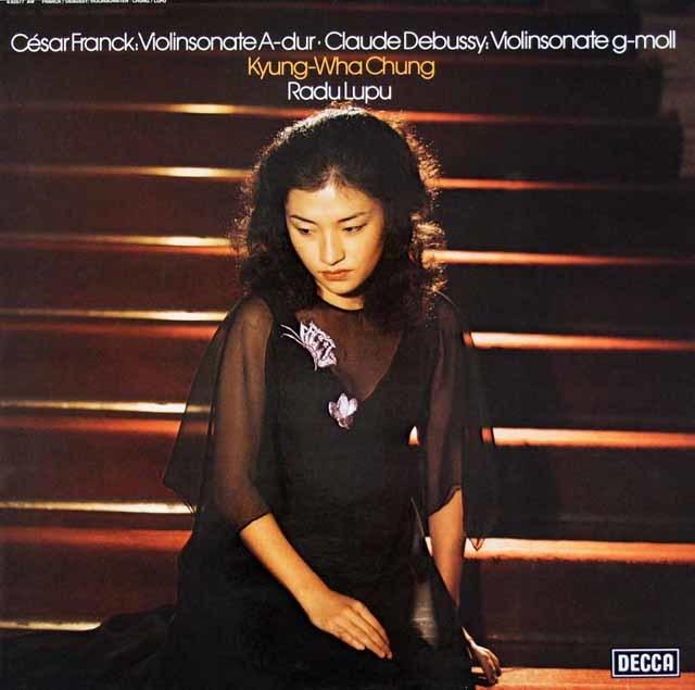 チョン&ルプーのフランク/ヴァイオリンソナタほか 独DECCA 3112 LP レコード