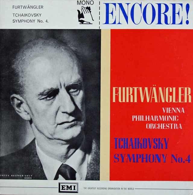 フルトヴェングラーのチャイコフスキー/交響曲第4番 英EMI 3113 LP レコード
