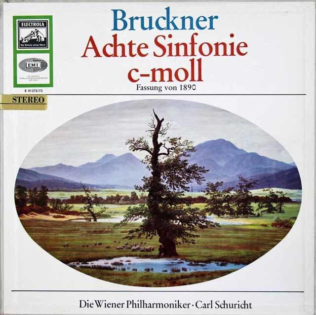 【独最初期盤】シューリヒトのブルックナー/交響曲第8番 独ELECTROLA 3113 LP レコード