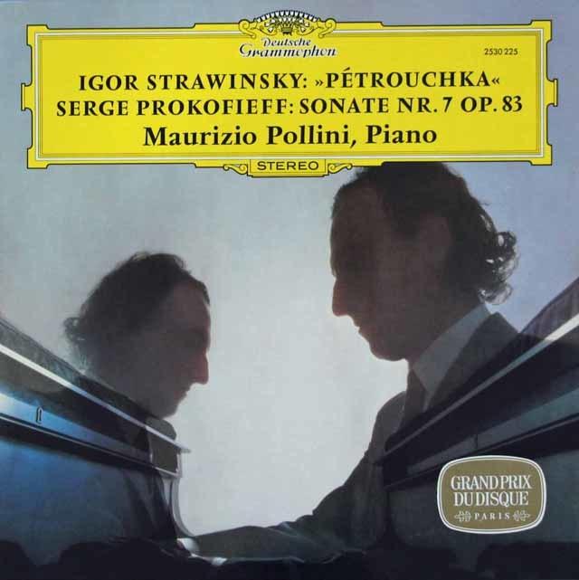 ポリーニのストラヴィンスキー/「ペトルーシュカ」ほか   独DGG 3113 LP レコード
