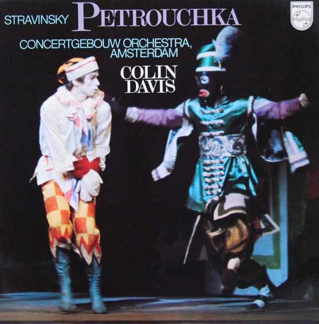 デイヴィスのストラヴィンスキー/「ペトルーシュカ」(1947年版)  蘭PHILIPS 3113 LP レコード