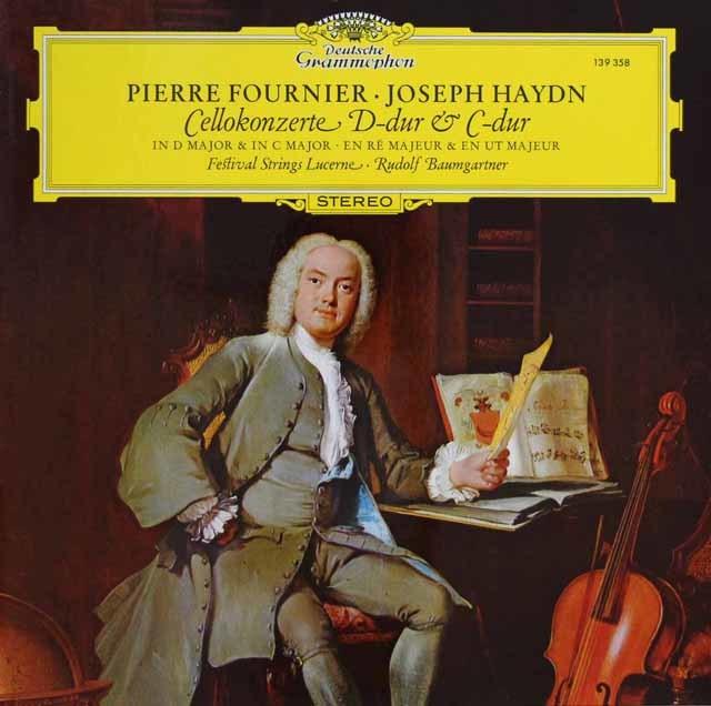 フルニエ&バウムガルトナーのハイドン/チェロ協奏曲第1&2番 独DGG 3114 LP レコード