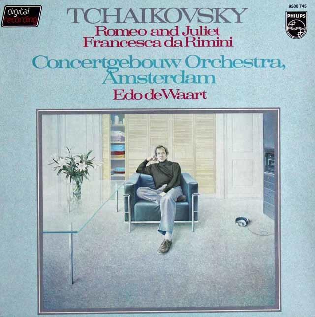 デ・ワールトのチャイコフスキー/「ロメオとジュリエット」&「フランチェスカ・ダ・リミニ」 蘭PHILIPS 3114 LP レコード