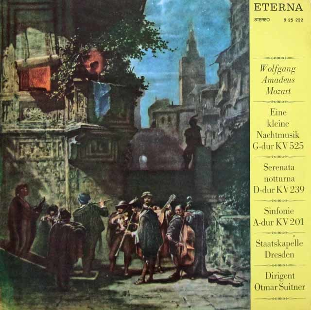 スウィトナーのモーツァルト/「アイネ・クライネ・ナハトムジーク」ほか 独ETERNA 3114 LP レコード