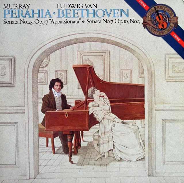 ペライアのベートーヴェン/「熱情」ほか 蘭CBS 3114 LP レコード