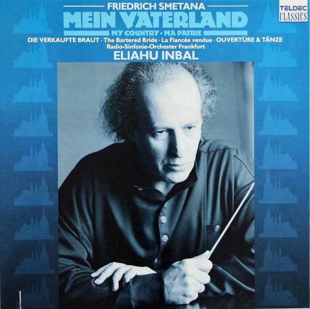 インバルのスメタナ/「わが祖国」全曲 独TELDEC 3114 LP レコード