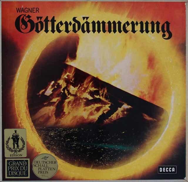 ショルティのワーグナー/「神々の黄昏」 独DECCA 3114 LP レコード