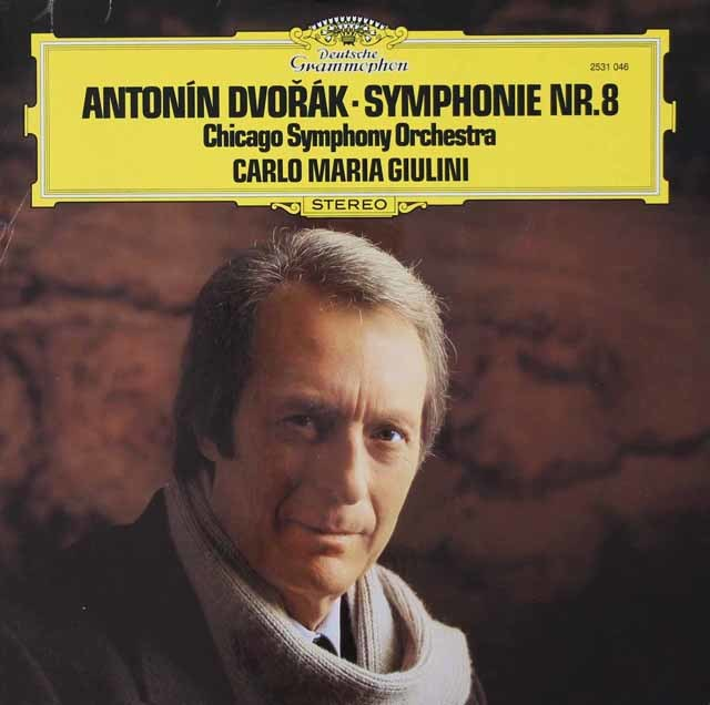 ジュリーニのドヴォルザーク/交響曲第8番 独DGG 3115 LP レコード
