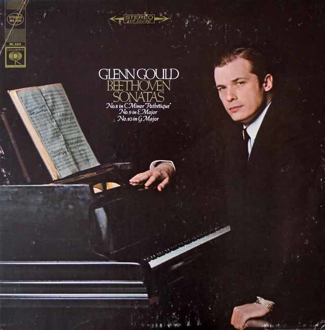 グールドのベートーヴェン/ピアノソナタ第8番「悲愴」~第10番 米Columbia 3115 LP レコード