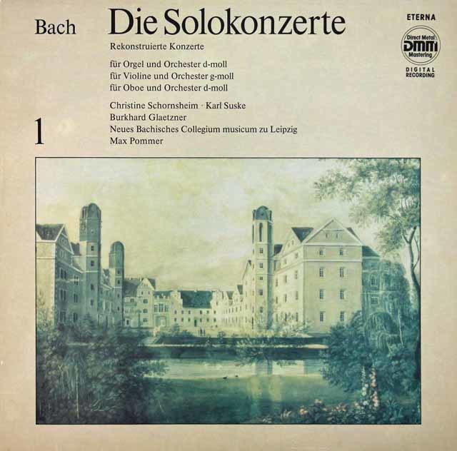 ズスケ&グレツナーらのバッハ/協奏曲集 vol.1 独ETERNA 3116 LP レコード