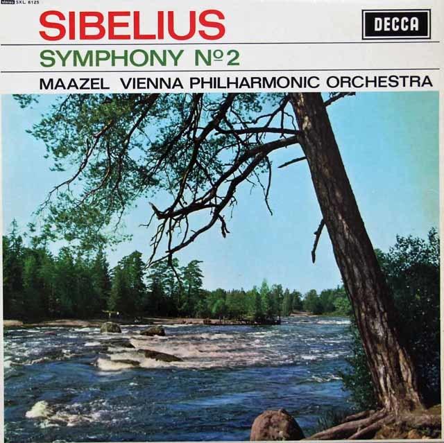 【オリジナル盤】 マゼールのシベリウス/交響曲第2番 英DECCA 3116 LP レコード