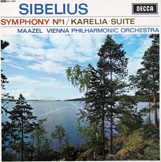 【オリジナル盤】 マゼールのシベリウス/交響曲第1番ほか 英DECCA 3116 LP レコード
