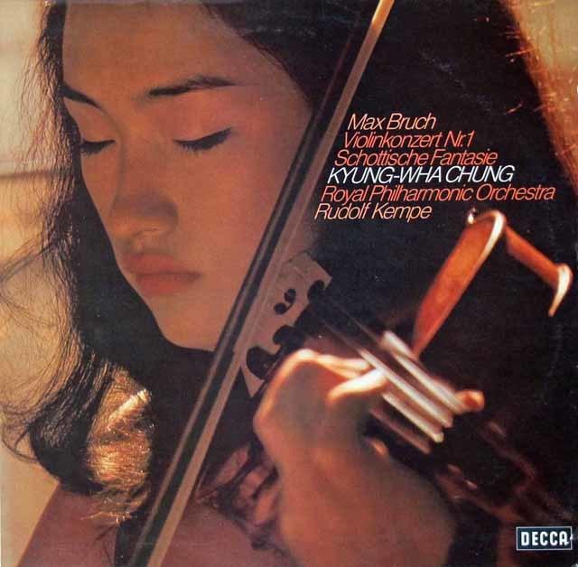 チョン&ケンペのブルッフ/ヴァイオリン協奏曲第1番ほか 独DECCA 3116 LP レコード